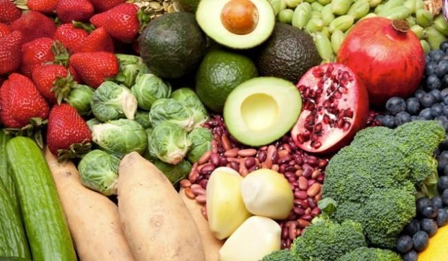 Super Foods - Beans, Brocolli, Brussel Sprouts, Strawberries, Avacado