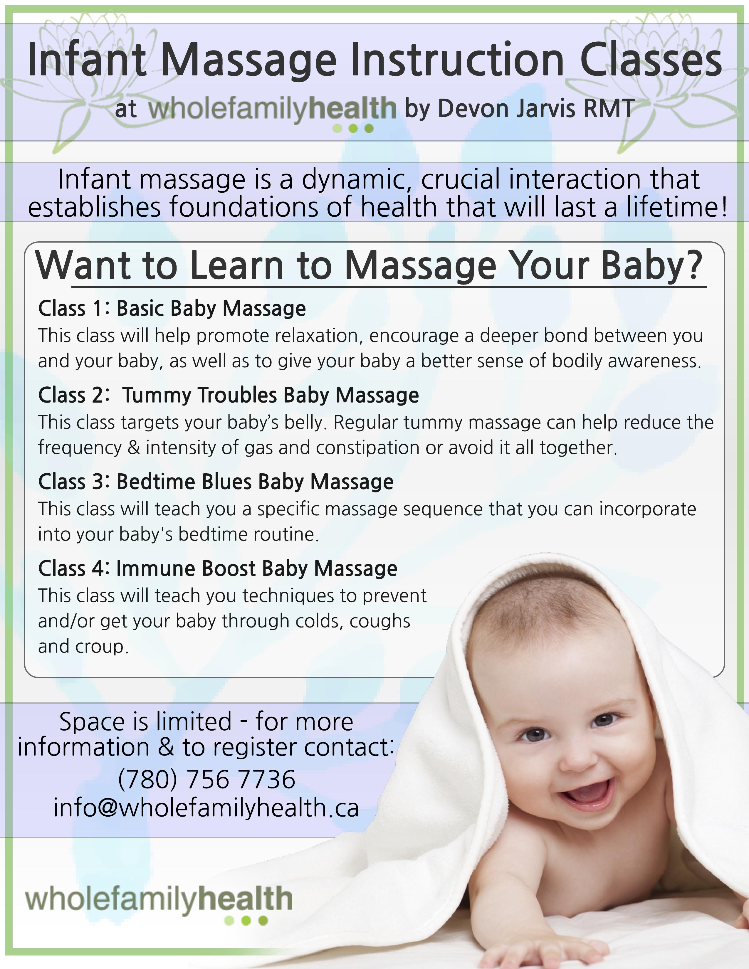 Infant Message Instruction Classes Image