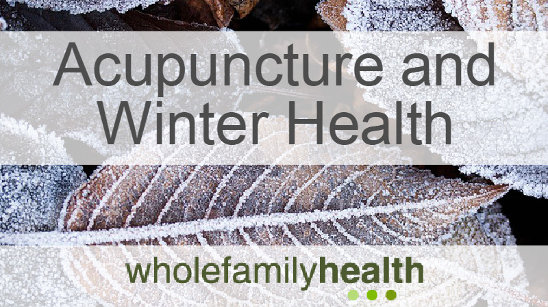 Acupuncture treatments and winter health