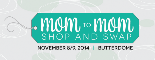 Mom to Mom Shop and Swap Graphic