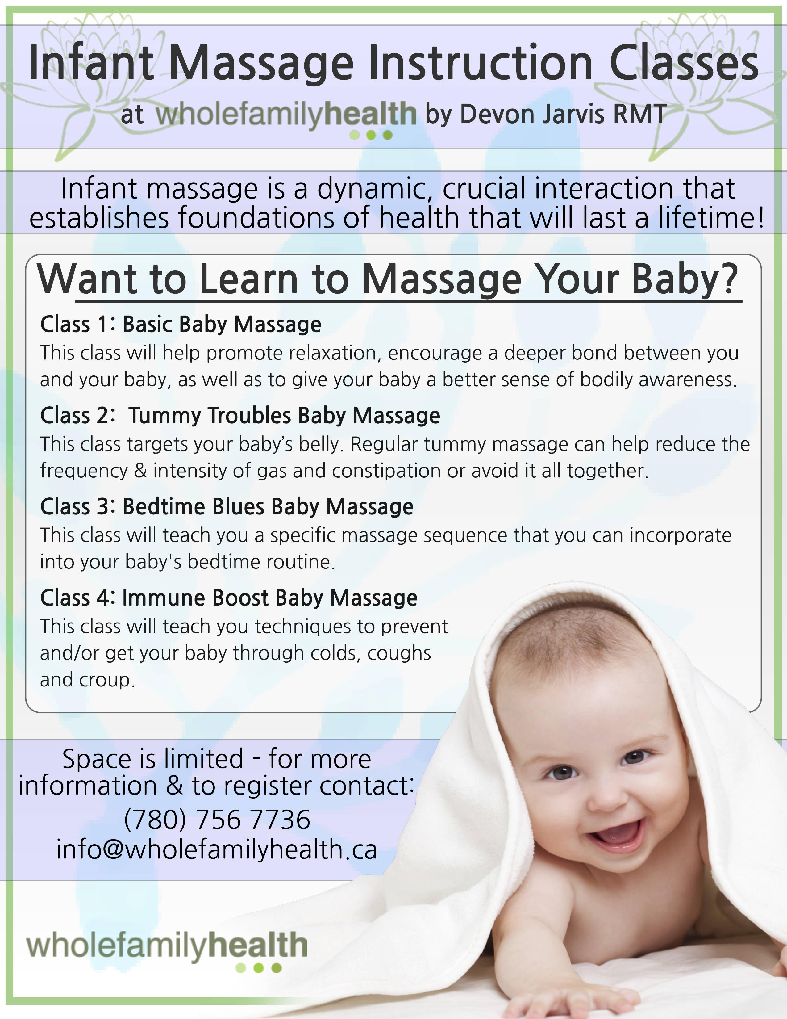 Infant Message Instruction Classes Image