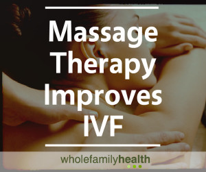 Massage Therapy Improves IVF Banner Image